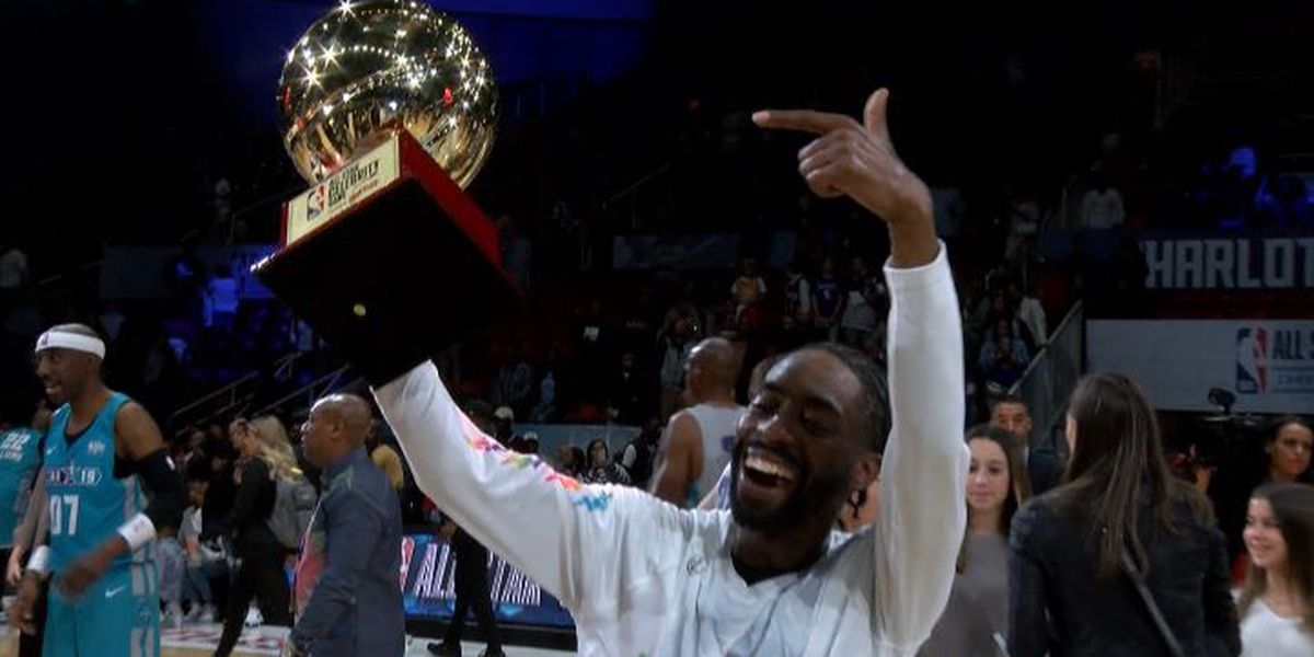 Home team wins the NBA All-Star Celebrity Game thanks to MVP performance from Famous Los