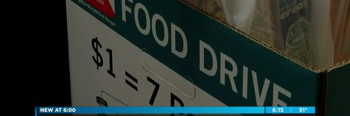 Piedmont Medical Center collects cereal for hungry children