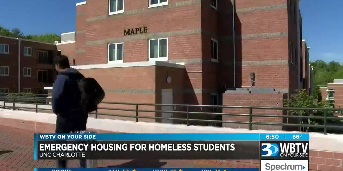 UNC Charlotte offers emergency housing for homeless students