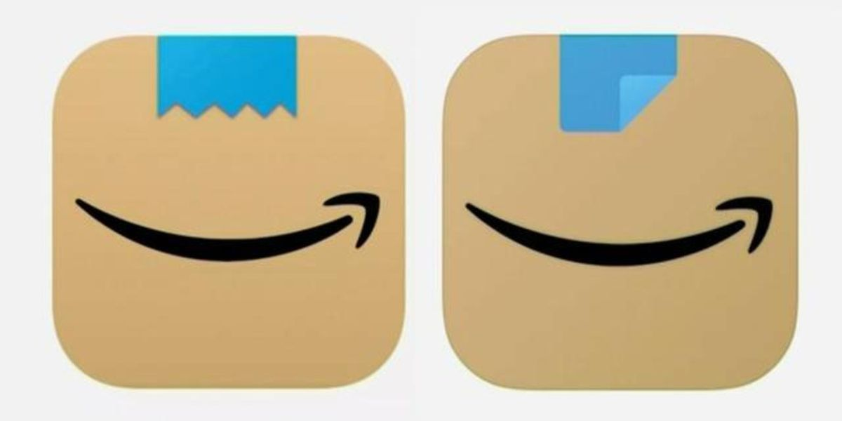 Amazon redesigns app logo after some said previous one resembled Hitler