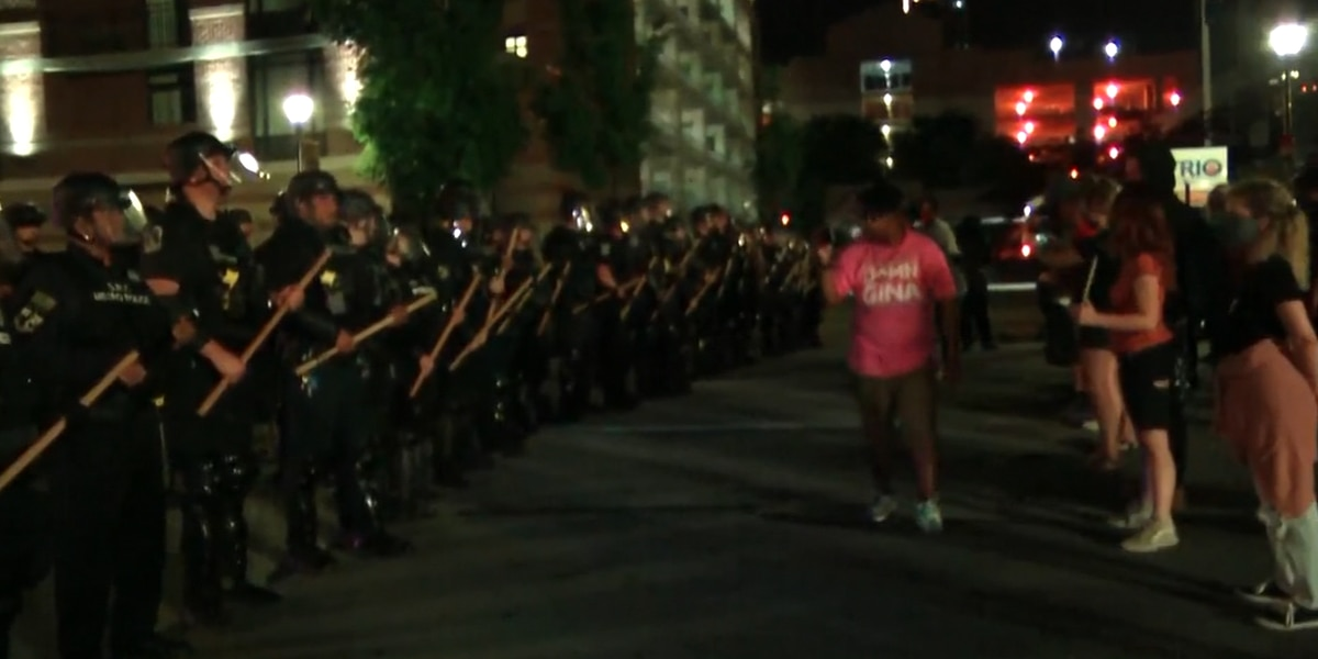 Seven people shot in Louisville during protests over death of Breonna Taylor
