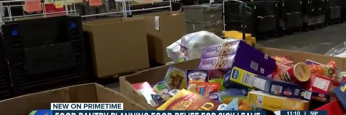 Food banks preparing to help families as coronavirus continues to spread