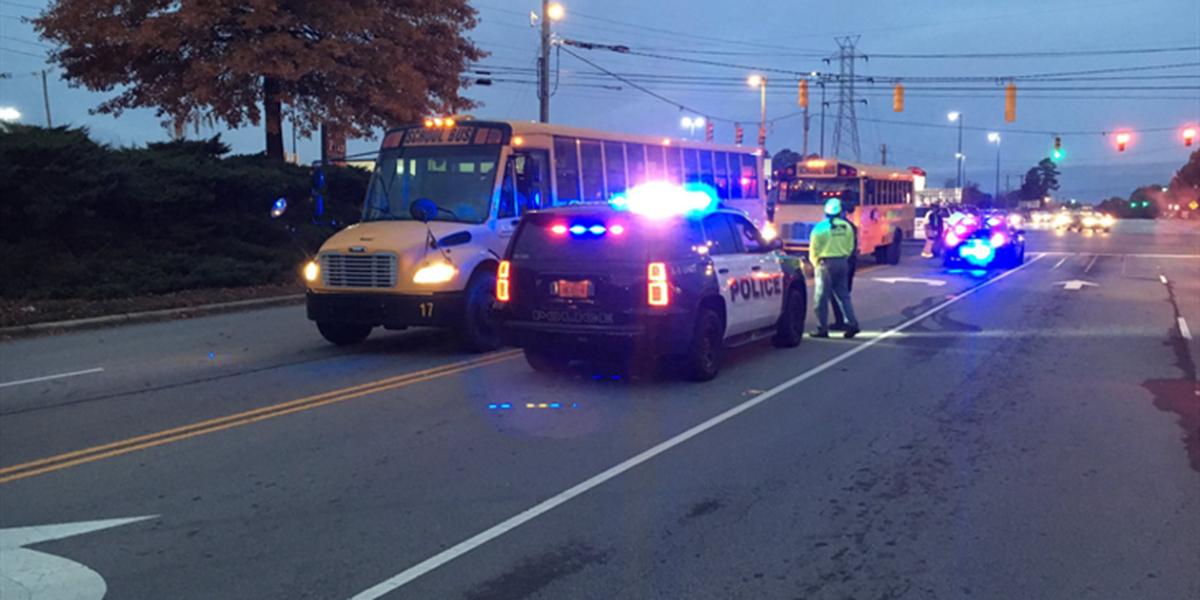 Truck driver injured in crash involving Salisbury school bus