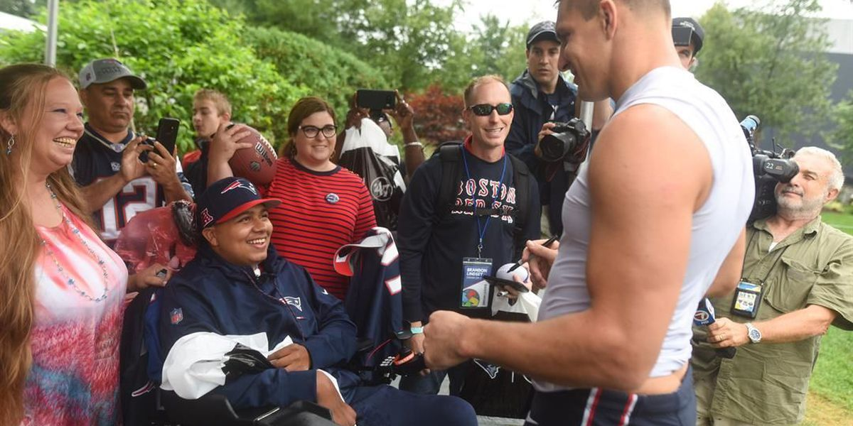 Dream On 3: Chester County teenager sent to meet New England Patriots