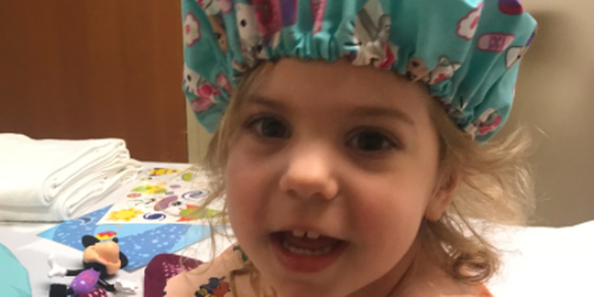 Molly's Kids: Mackenzie Lynn Barron. Three years old. DIPG. Not fair.
