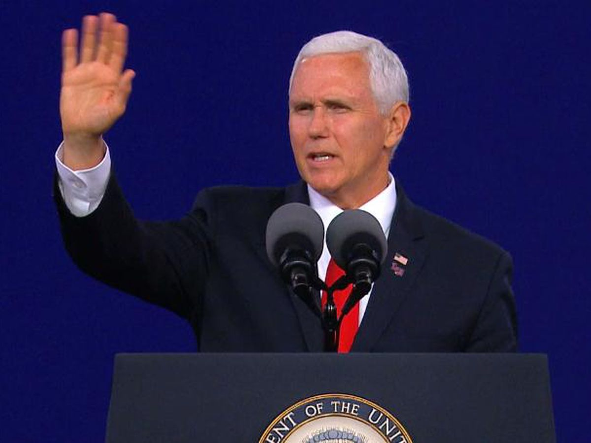 Vice President Pence discusses U.S.-Mexico-Canada trade agreement at Union Co. plant