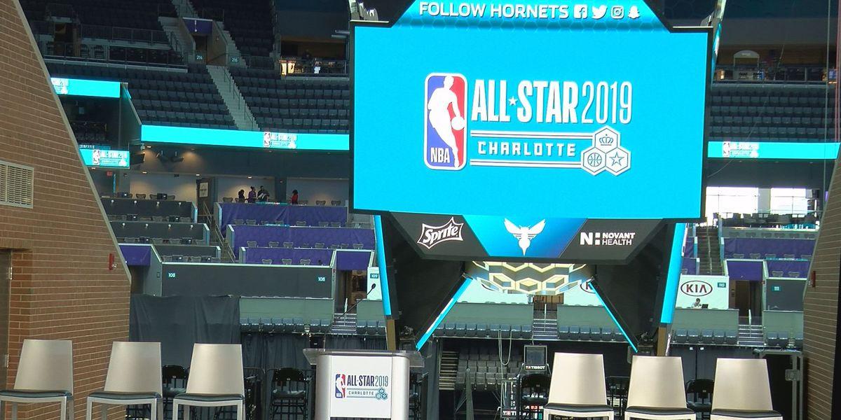 NBA All-Star Weekend once shut down Las Vegas. Charlotte, you've been warned