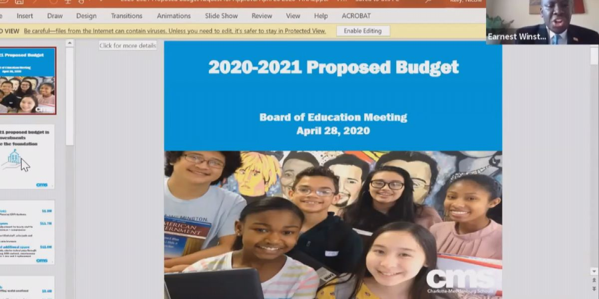 CMS Board passes 2020-21 budget, superintendent says focus will be on student support