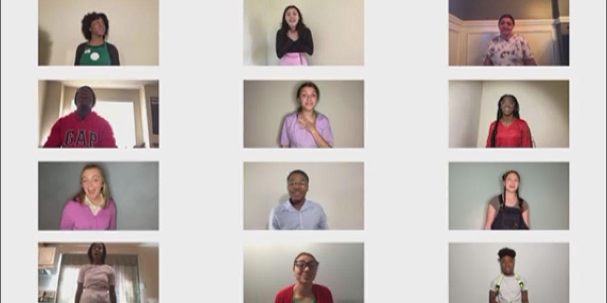 Charlotte high school students do full-length virtual spring musical