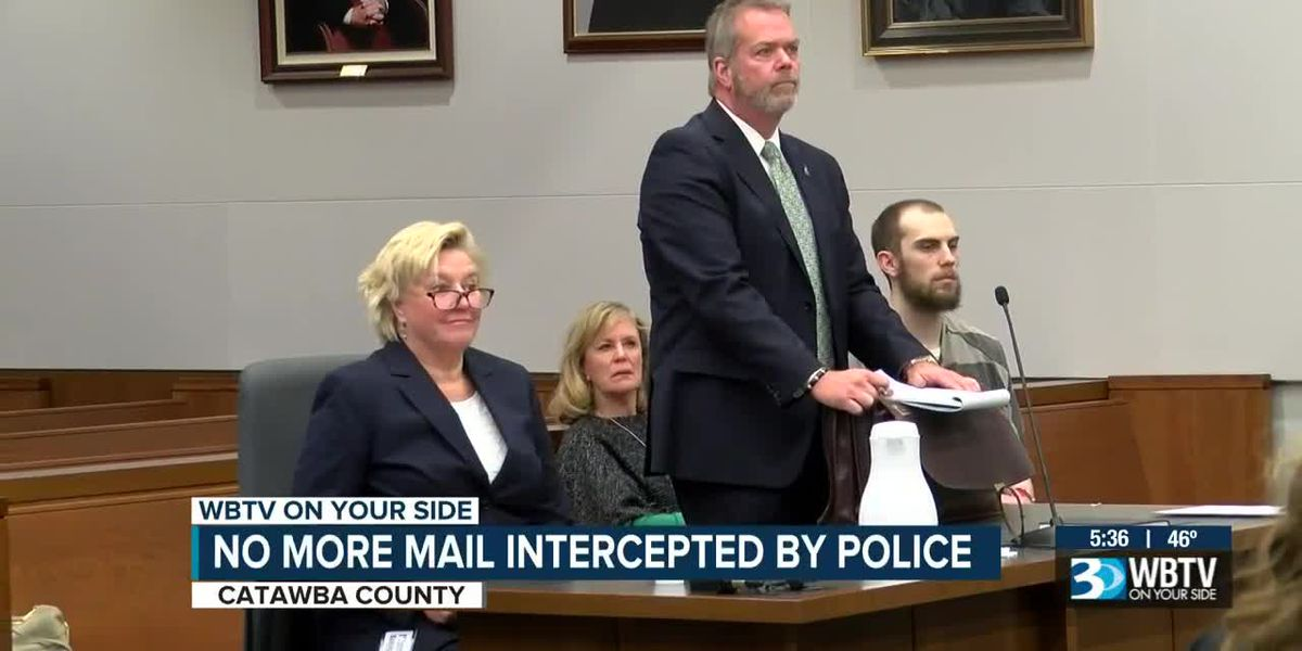 No more mail intercepted by police in Catawba County