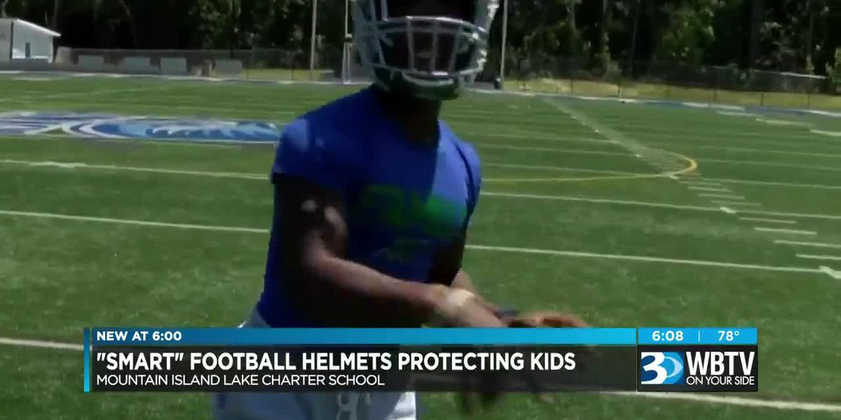 "New ""smart helmet"" uses technology to prevent football head injuries"