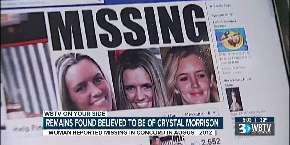 Remains found believed to be woman missing since 2012