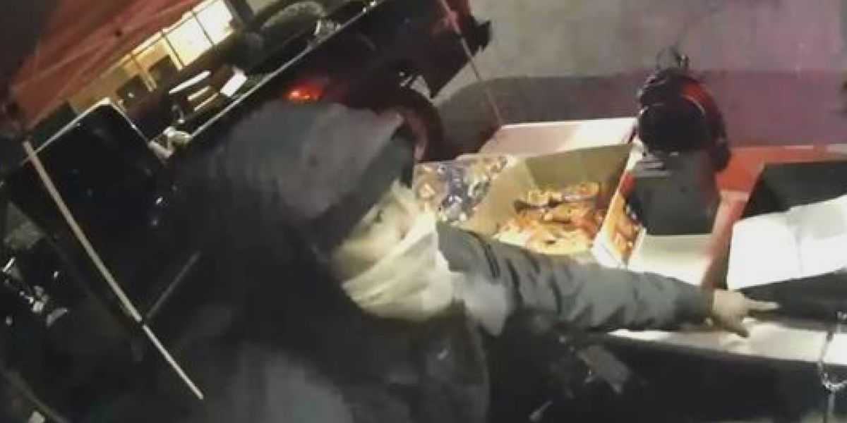 Crime Stoppers: Police looking to identify man who robbed food truck in University City