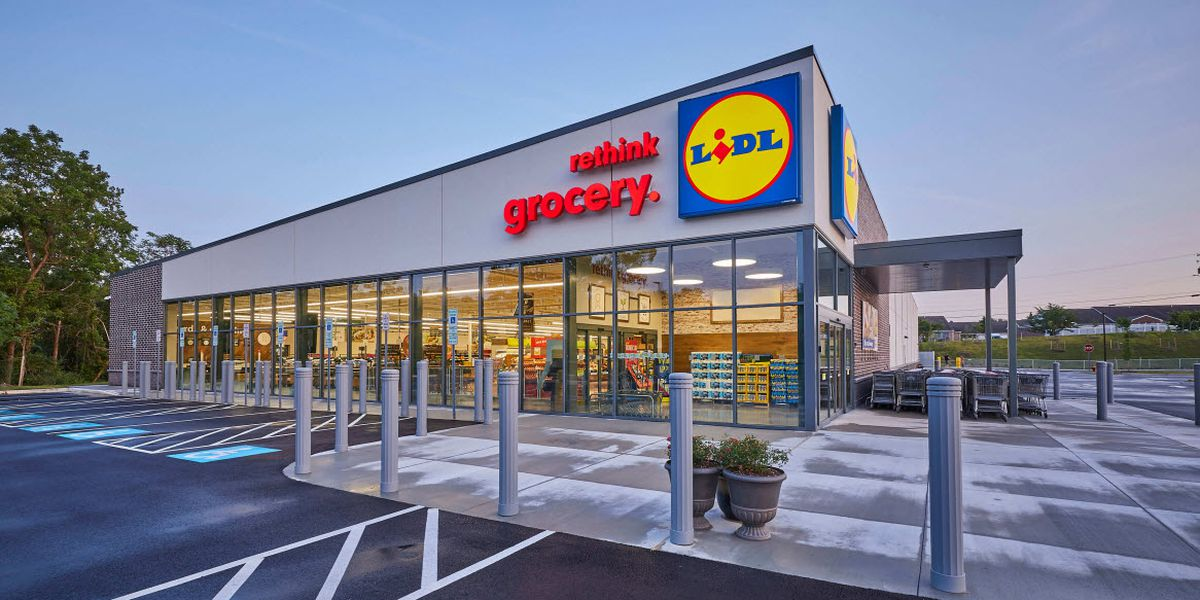 Charlotte's first Lidl grocery store has an opening date
