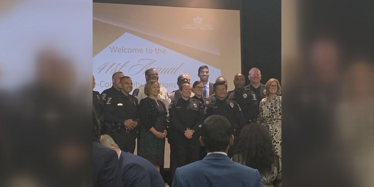 CMPD officers honored at 41st annual Police Community Relations Awards