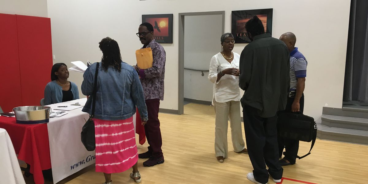 Councilmember Lawana Mayfield holds job fair to help people re-entering society after incarceration