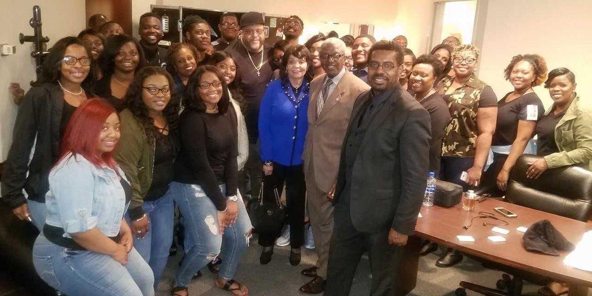 Livingstone Gospel Choir shines on stage with award-winning gospel artists