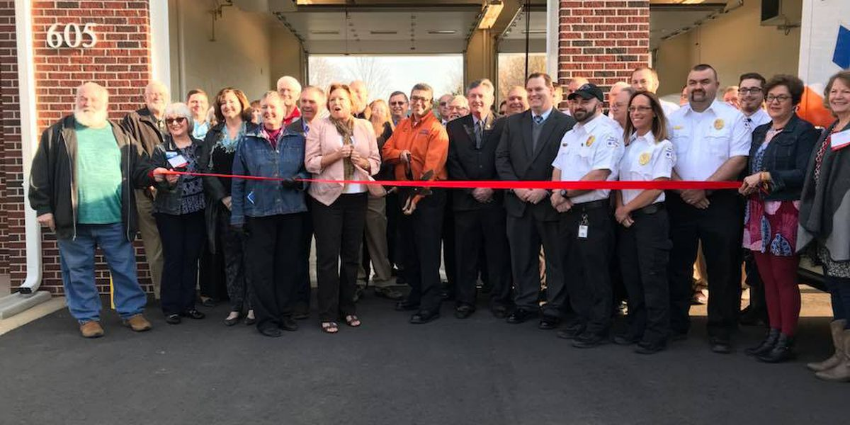 Ribbon cutting held Friday for new Rowan County EMS station in Rockwell