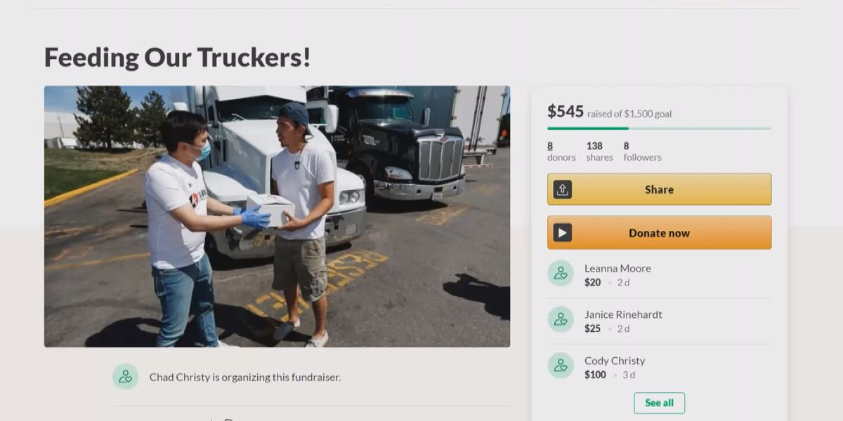 Lifelong friends team up to help feed truck drivers in Concord area