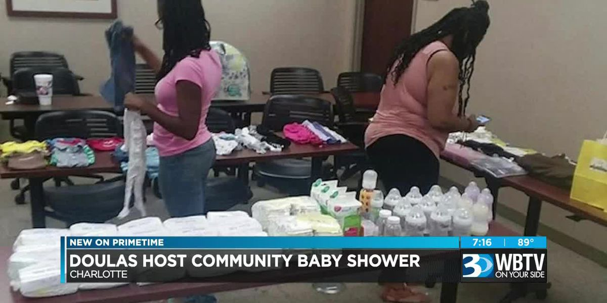 Charlotte organization to hold community baby shower for moms-to-be in need.