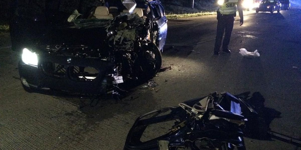 Wrong way driver causes I-485 crash, two people seriously injured