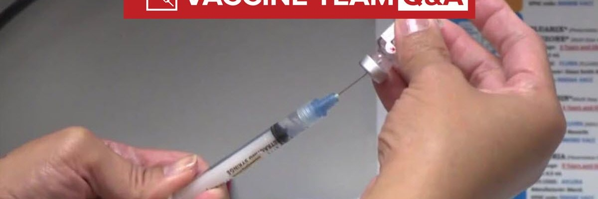 Vaccine Team: Are there risks involved in not getting the second dose?
