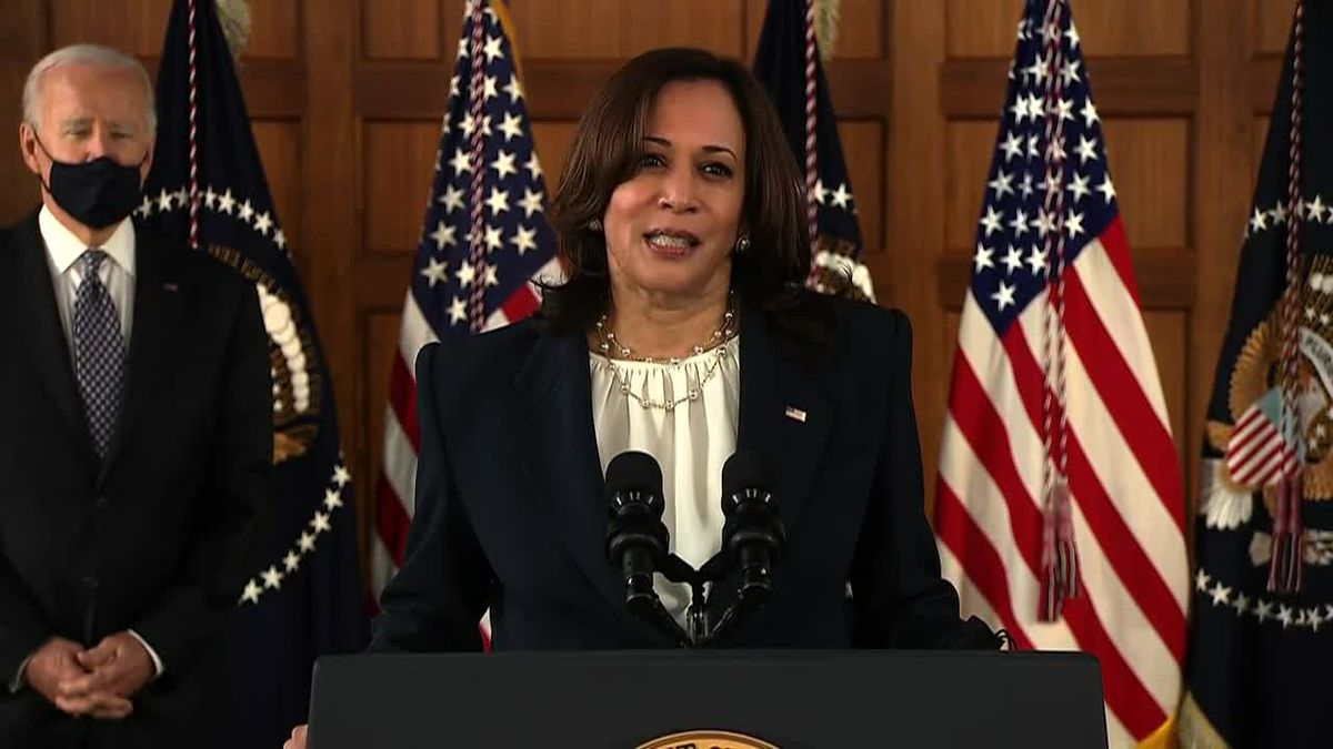 """VP Kamala Harris visits N.C. to discuss American Jobs Plan: """"There isn't only one path to success"""""""