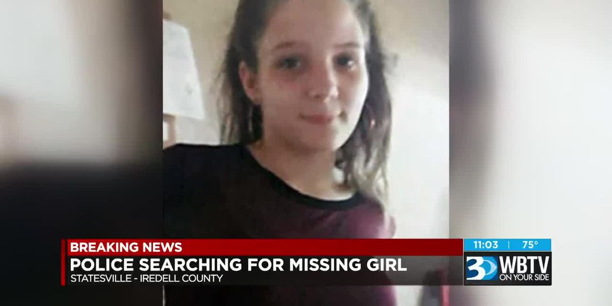 Statesville Police looking for missing girl last seen more than two weeks ago