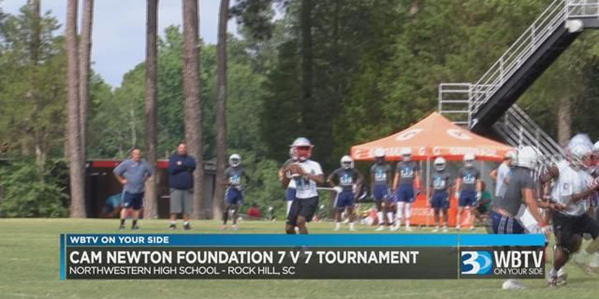 Cam Newton holds 7 on 7 tournament in Rock Hill