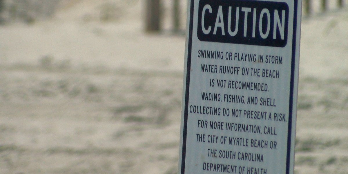 Temporary swim advisory lifted for portion of beach in North Myrtle Beach