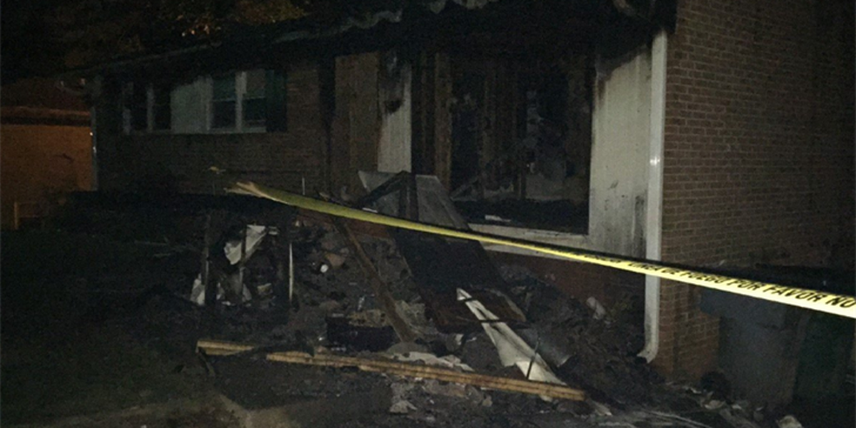 """Home """"heavily damaged"""" in west Charlotte fire"""