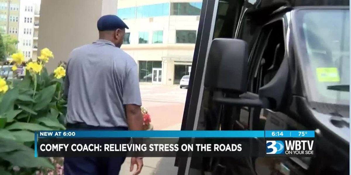 Comfy Coach aims to reduce traffic stress in Charlotte