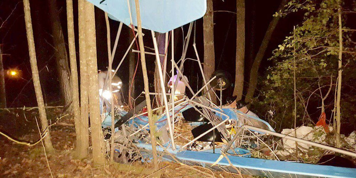 Pilot in 'stable' condition after Ultralight plane crashes in Lenoir
