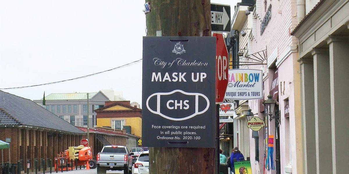 Charleston to strictly enforce mask mandate on Super Bowl weekend