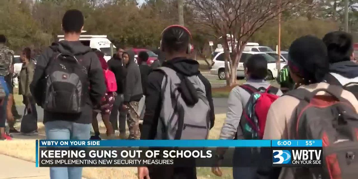 CMS' plans to keep guns out of schools