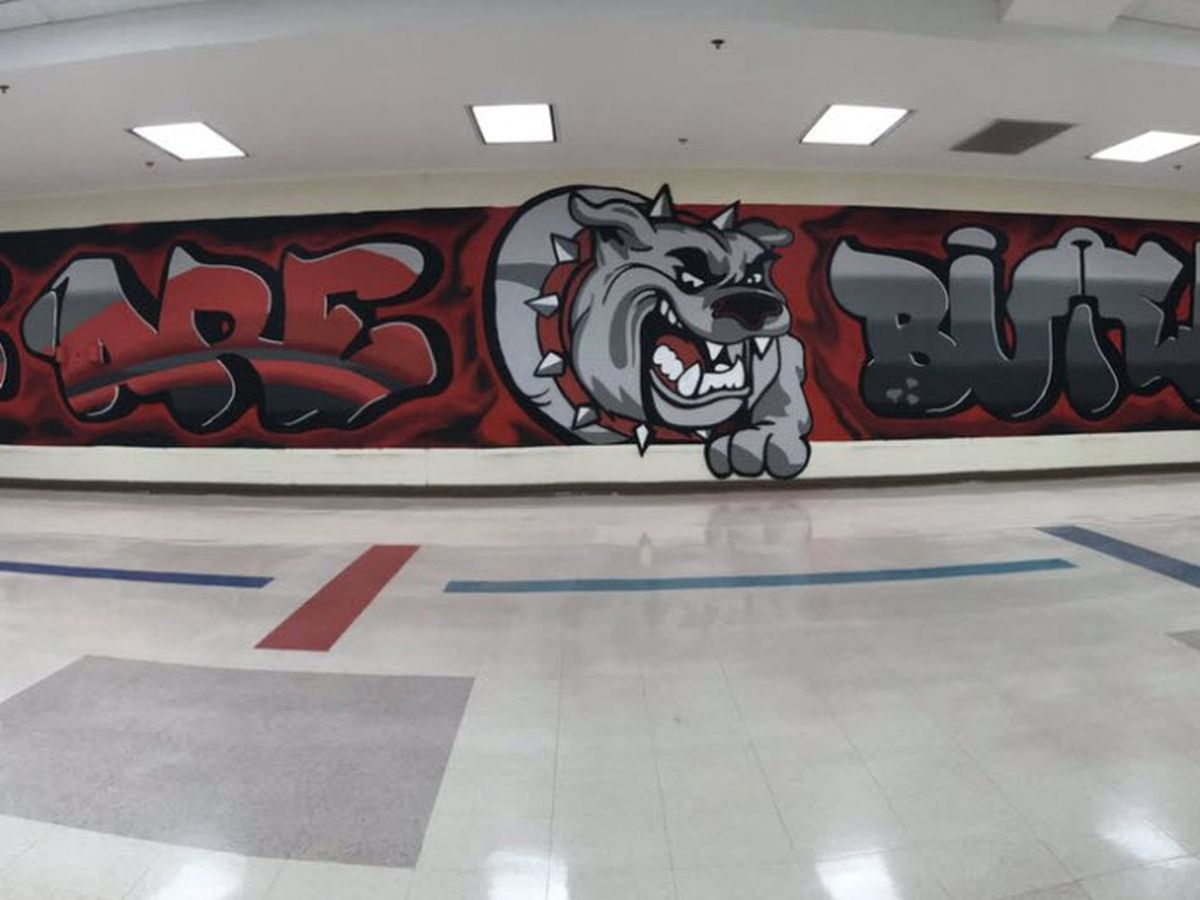 Local artist donates mural to Butler HS after fatal shooting