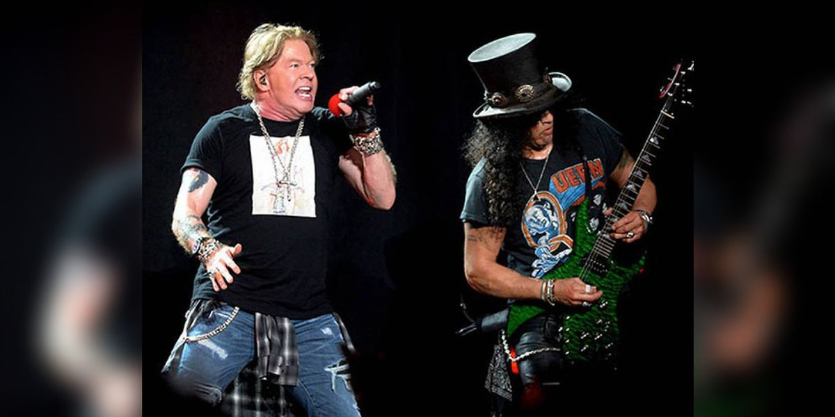 Did Guns N' Roses' show really have 'more bugs than a mattress in a Times Square hotel'?
