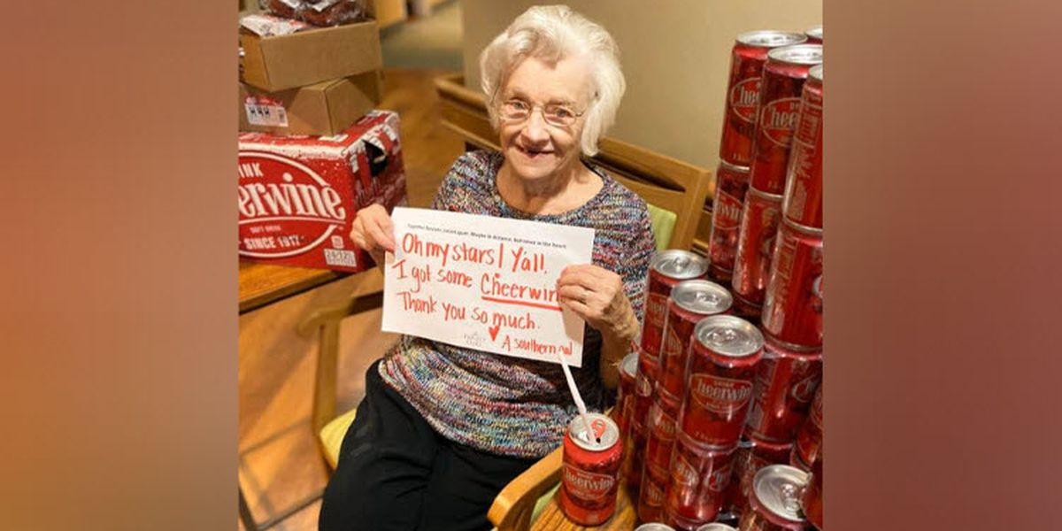 'Uniquely sassy.' 101-year-old Salisbury resident cheery after community gift