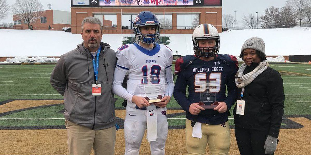 Wake Forest takes second straight crown with a 21-0 win over Mallard Creek