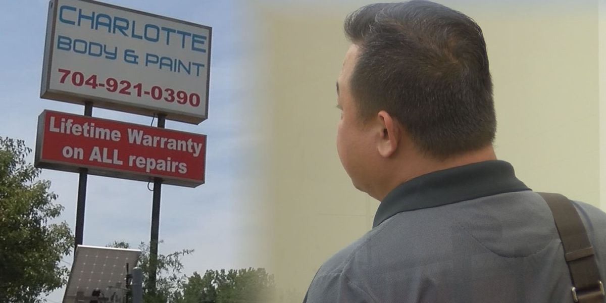 Owner of Charlotte Body and Paint in court after WBTV Investigation