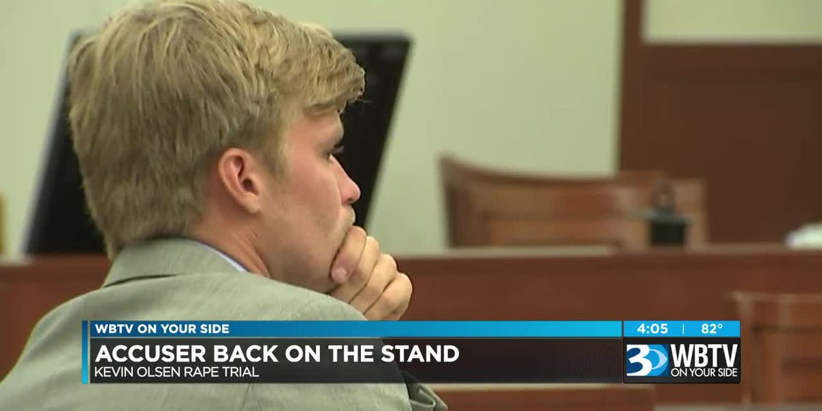 Kevin Olsen rape accuser back on the stand