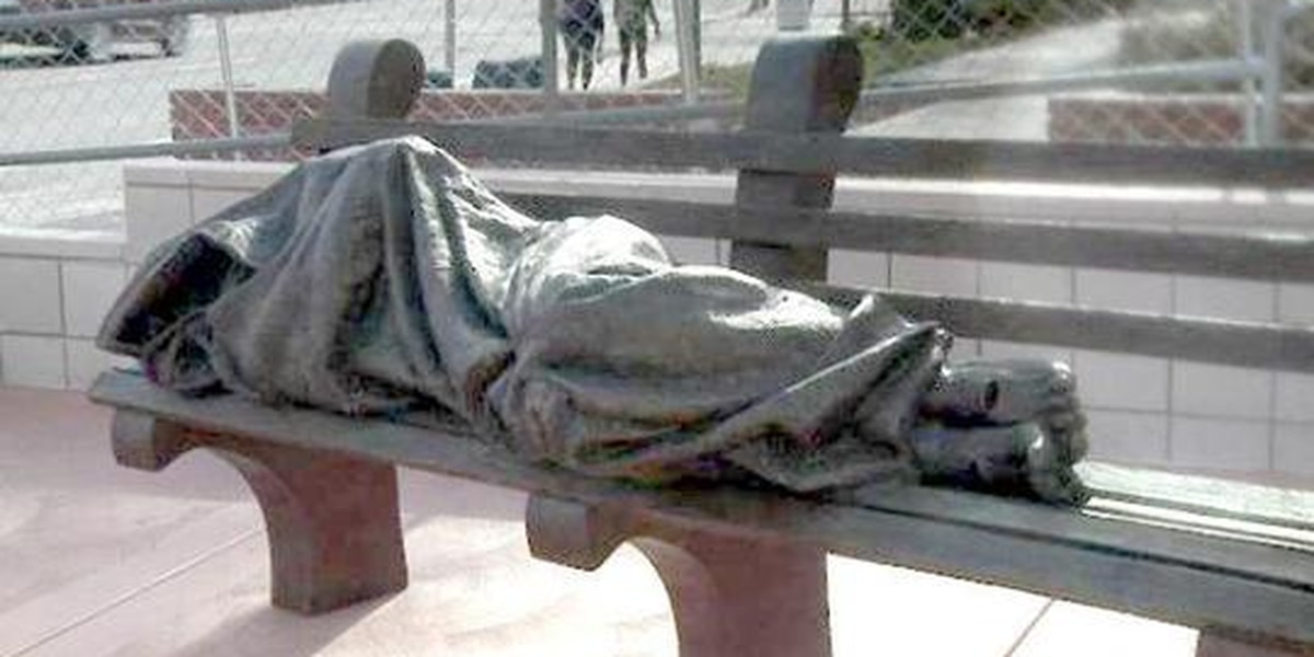 'Homeless Jesus' sculpture comes to Nevada