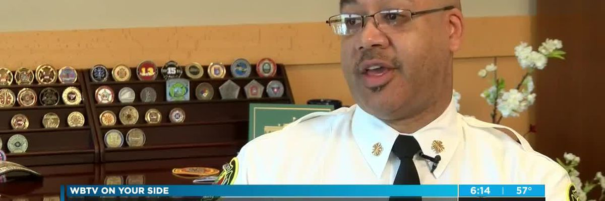 Charlotte's first permanent African American Fire Chief discusses diversity goals
