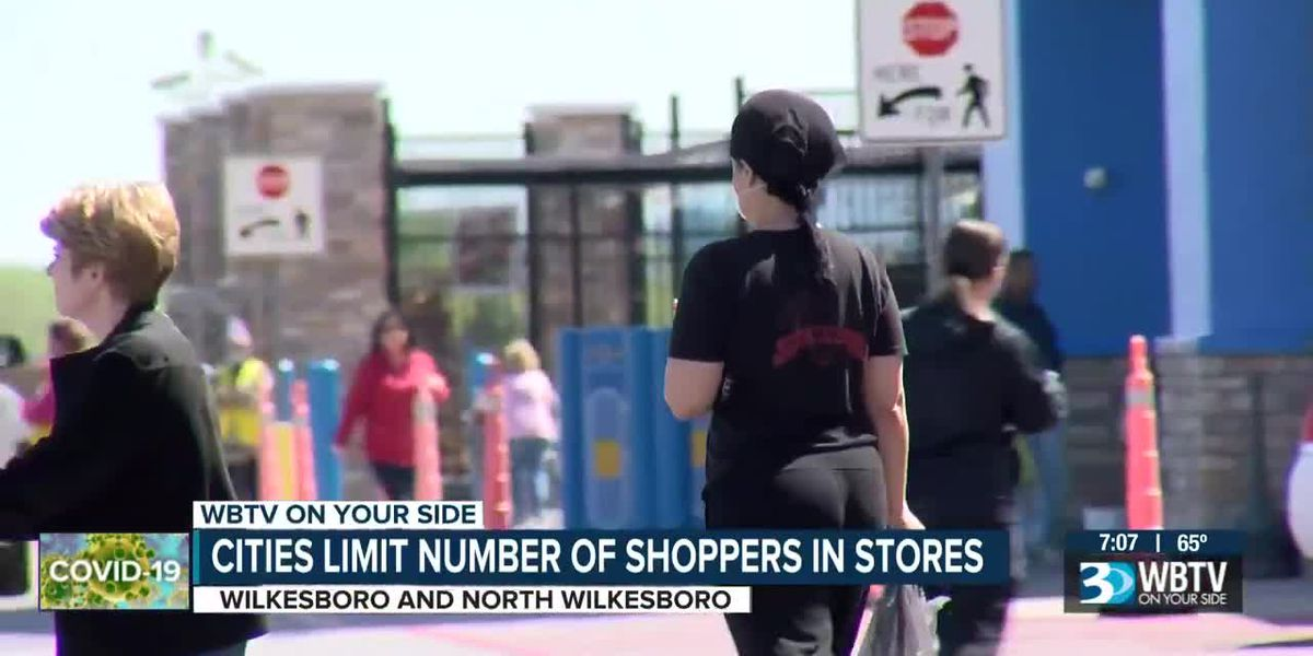 Stricter shopping rules begin in Wilkesboro and North Wilkesboro