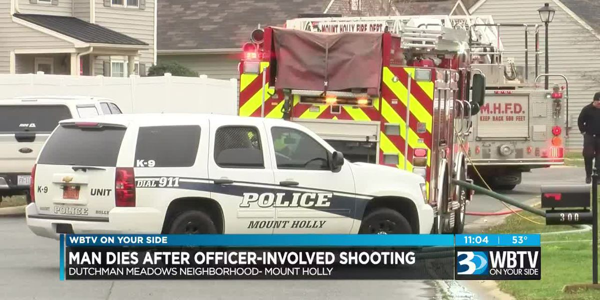 Sword-wielding man killed in officer-involved shooting after starting fire, jumping from NC home
