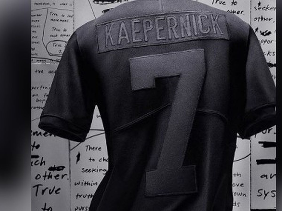 Nike released a new Colin Kaepernick jersey marking four years since he took a knee. It sold out in less than a minute.