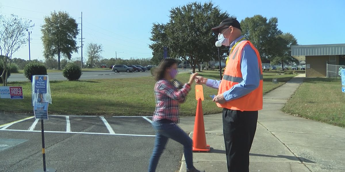 Practically no lines at Union County polling sites after record breaking turnout for early voting