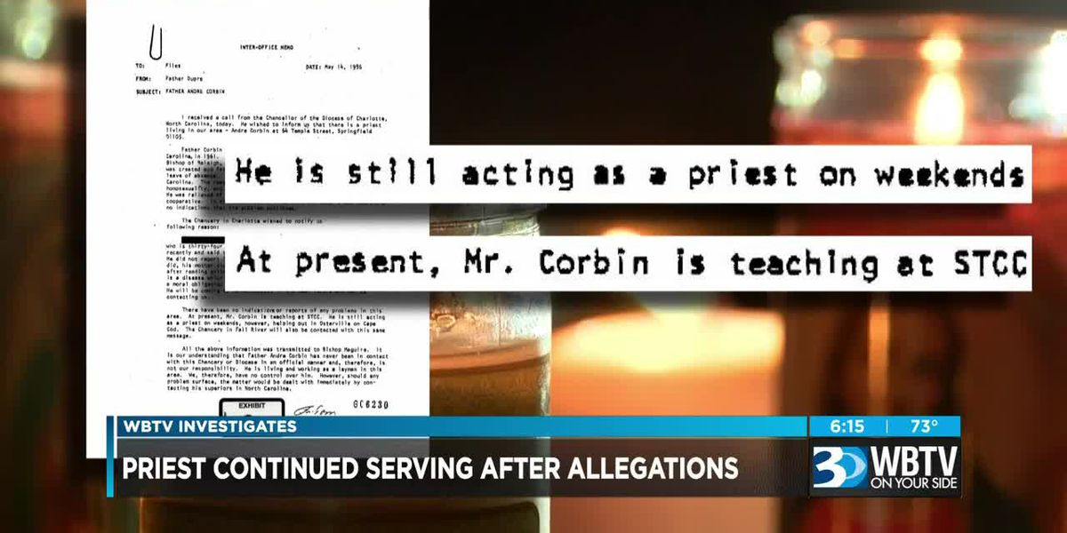 Priest continued serving after allegations