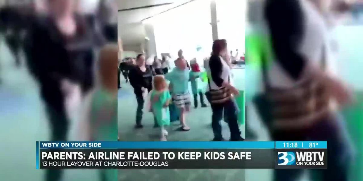 Parents say children with medical needs were stranded at CLT Airport for hours