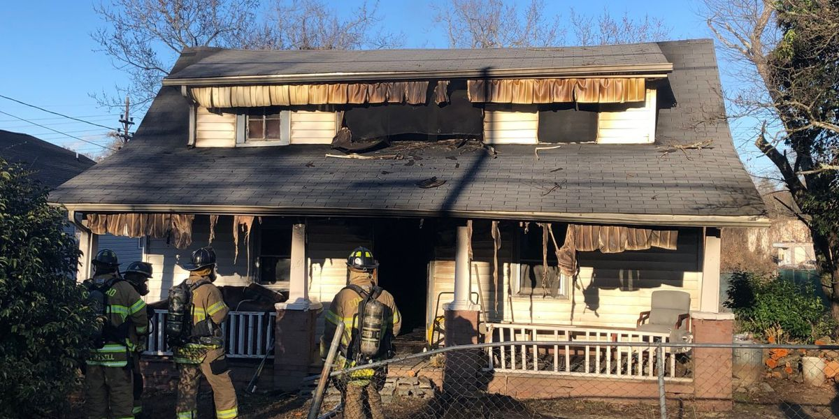 Two displaced after house fire in Concord